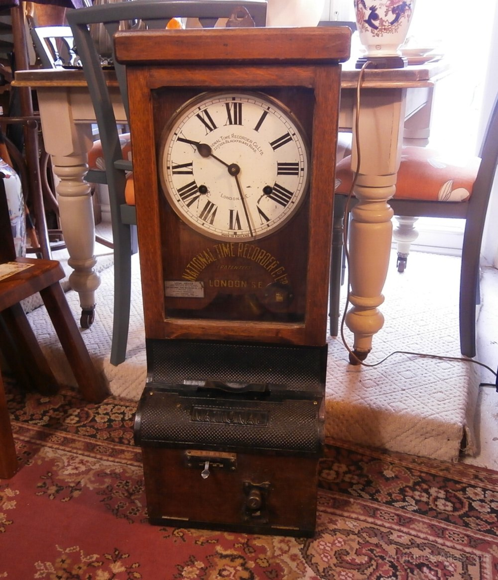 Antiques Atlas - National Time Recorder | 1000 x 1166 jpeg 217kB
