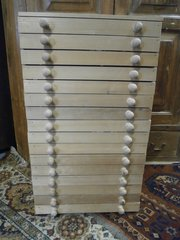 Pine 16 Drawer Coin Collectors