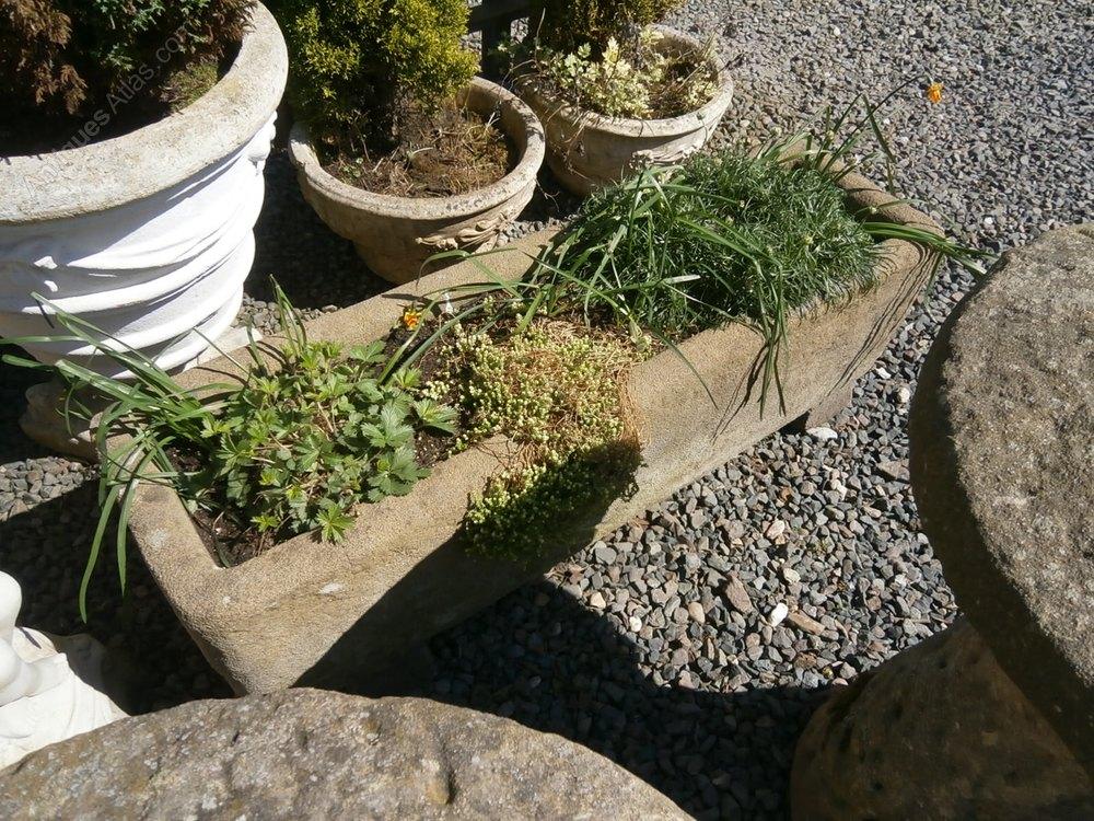 Stone Garden Troughs Antiques atlas stone garden trough antique troughs garden stone trough workwithnaturefo