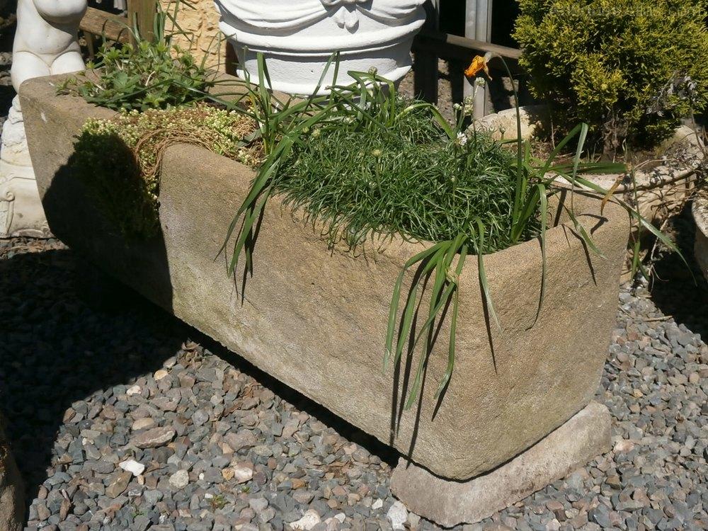 Stone Garden Trough.