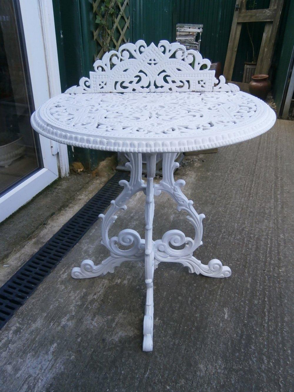 Antique Garden Tables ...