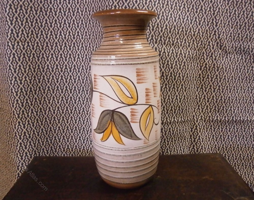 Antiques Atlas West German Pottery Vase Scheurich Keramik