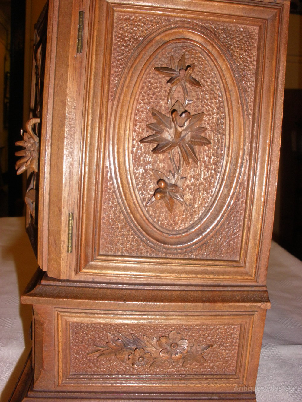 Black Forest Hand Carved Table Cabinet Antiques Atlas