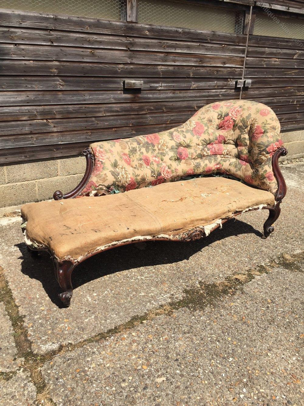 Victorian chaise longue antiques atlas for Chaise longue for sale uk