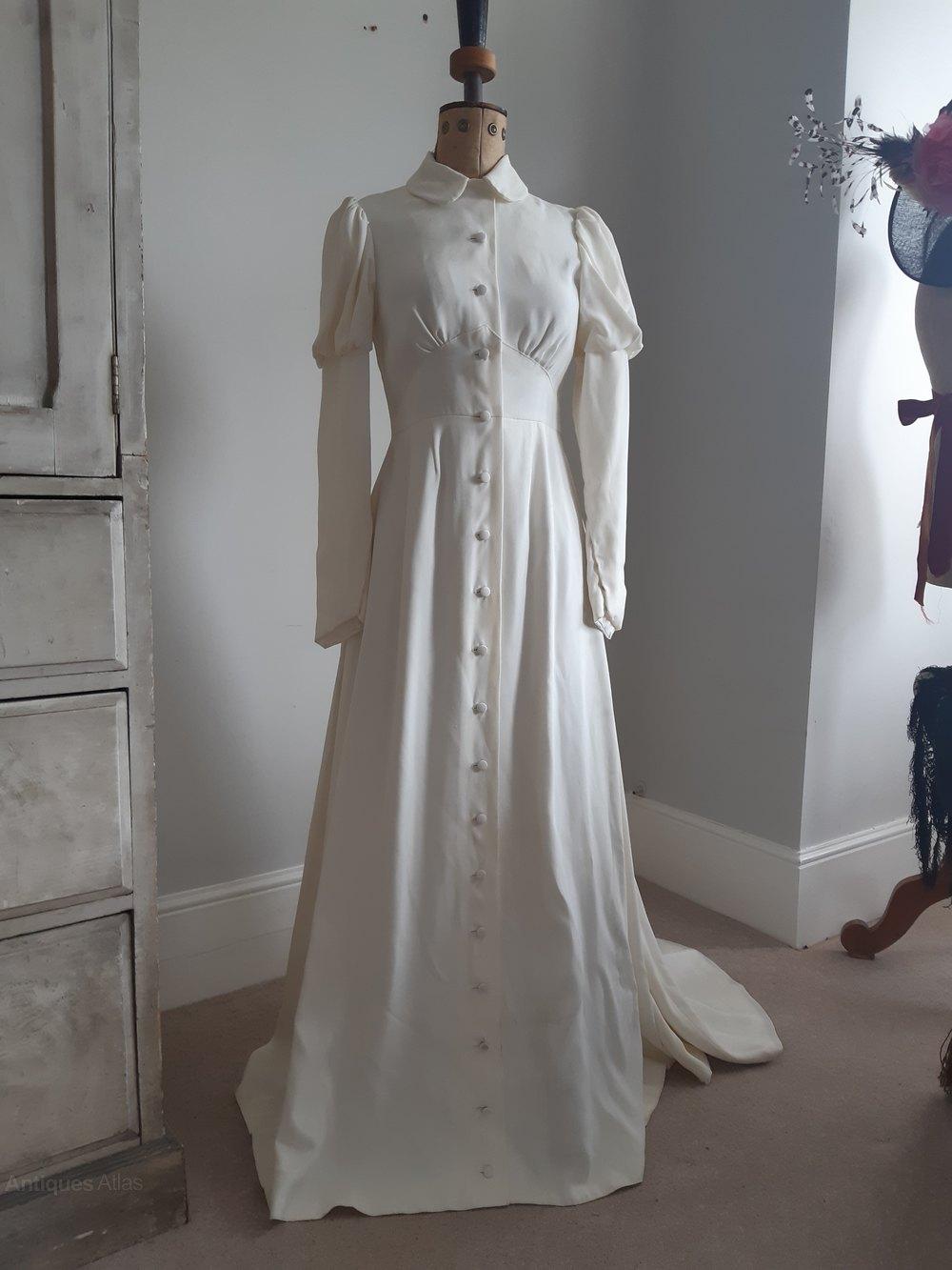 Original 20s Wedding Dress / Ossie Clark Design