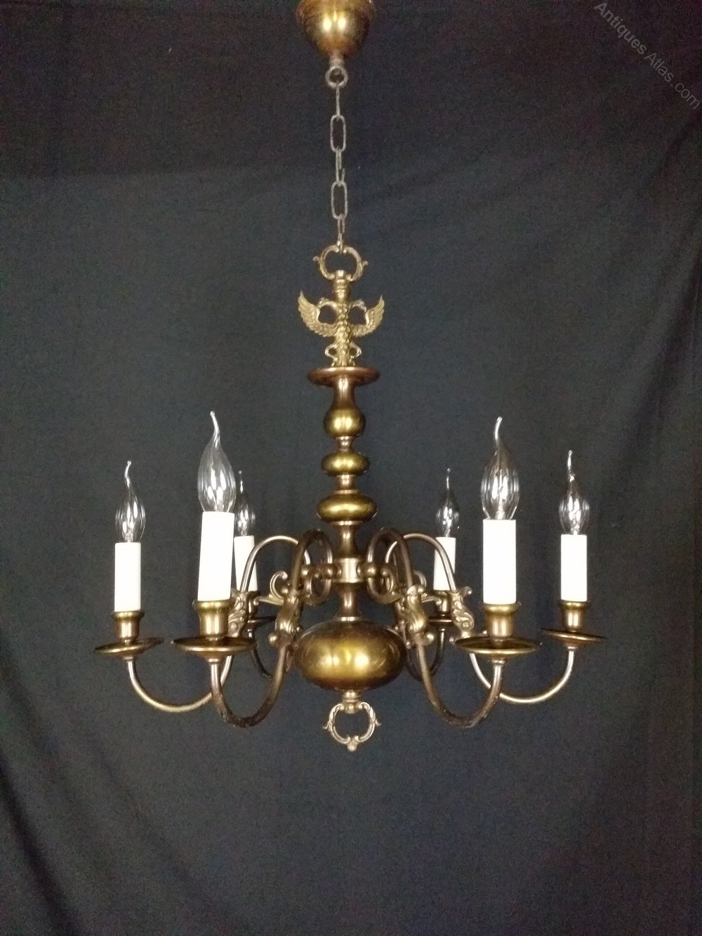 Antiques Atlas Antique Flemish Chandelier