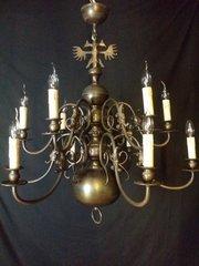 Ideal Antique Flemish chandelier