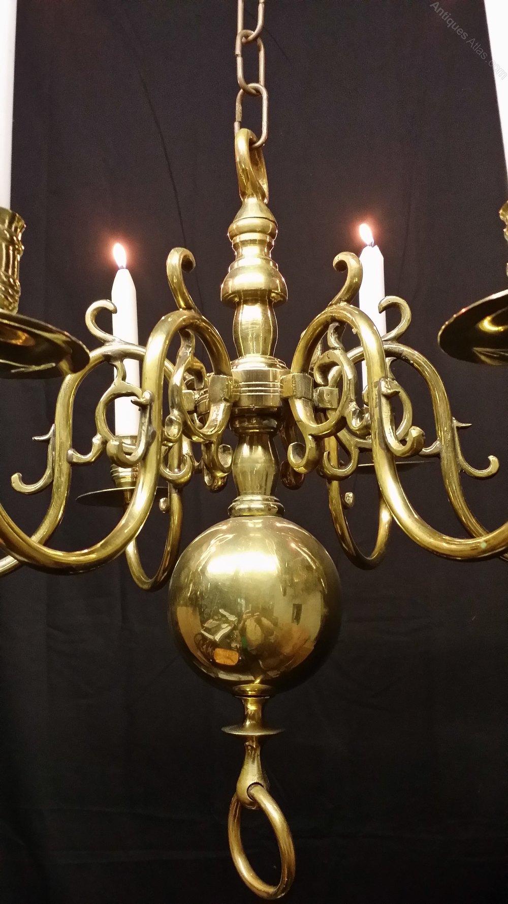 Antique Flemish Chandelier Lighting Chandeliers