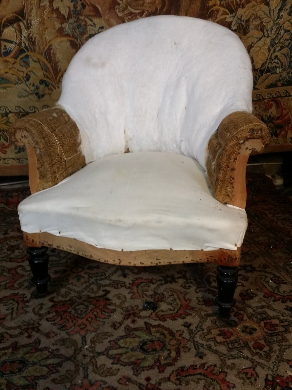 antique french chair - French Antique Tub Chairs - Antiques Atlas