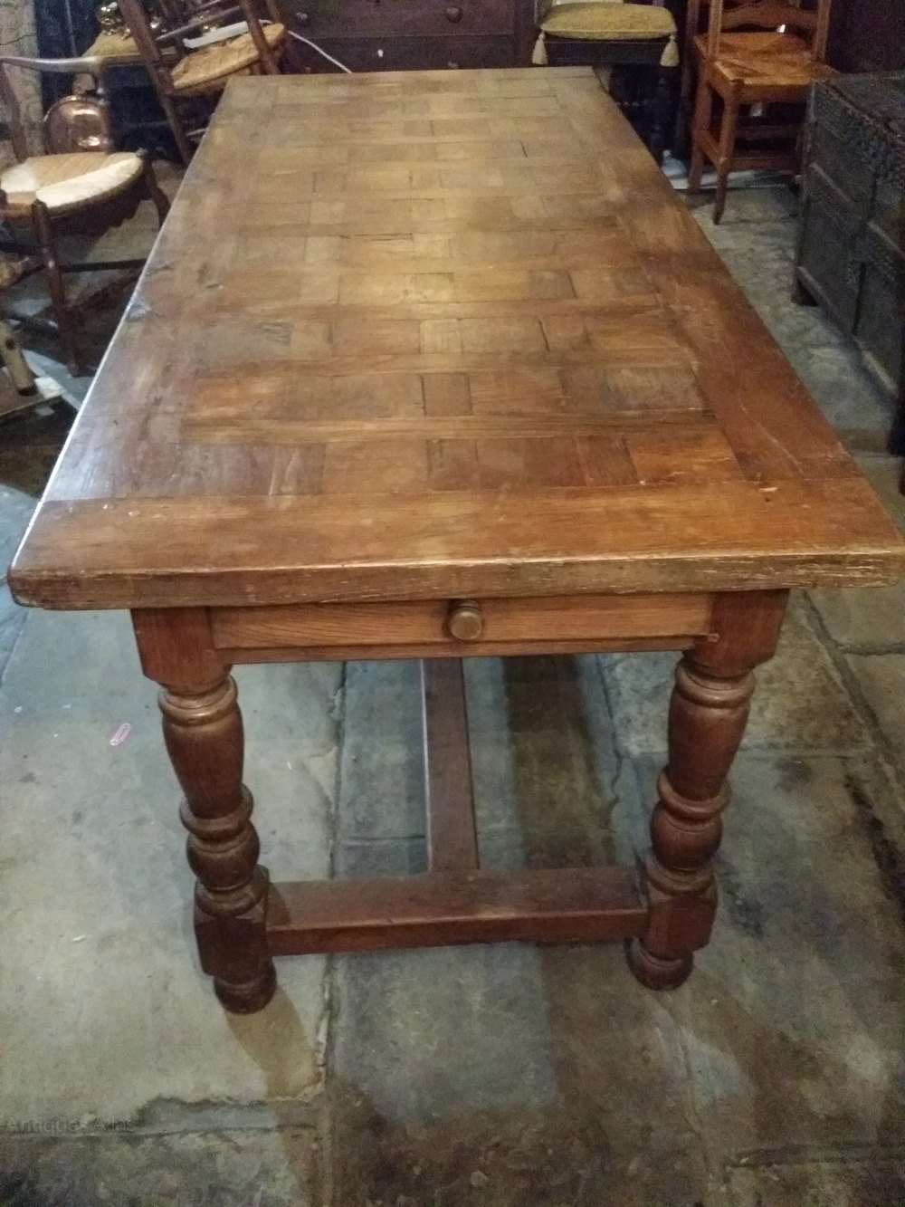 French Oak Farmhouse Table Antique Tables