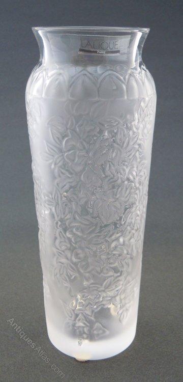 Antiques Atlas Lalique Bougainvillier Blossom Vase