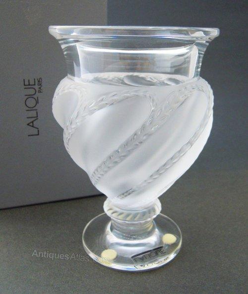 Antiques Atlas Lalique Ermenonville Design Vase
