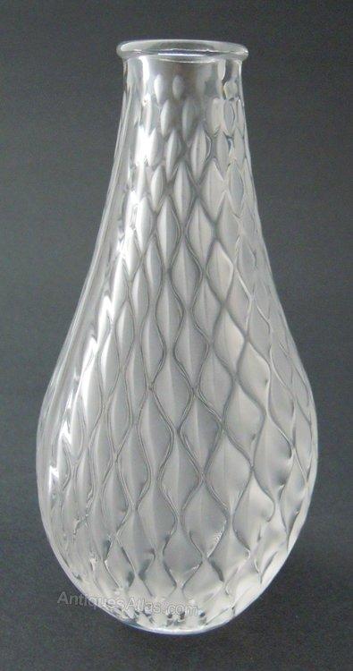 Antiques Atlas Lalique Bud Vase Vibration