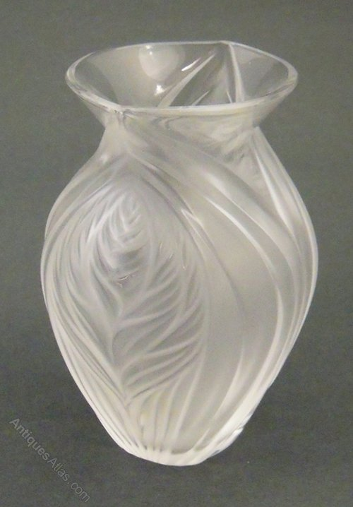 lalique vase pavie lalique glass - Lalique Vase