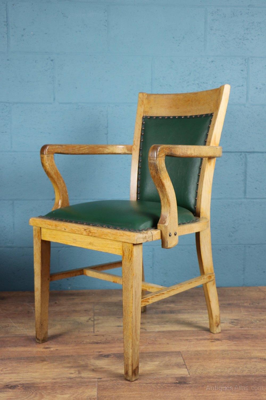 1930s Oak Desk Chair Antiques Atlas