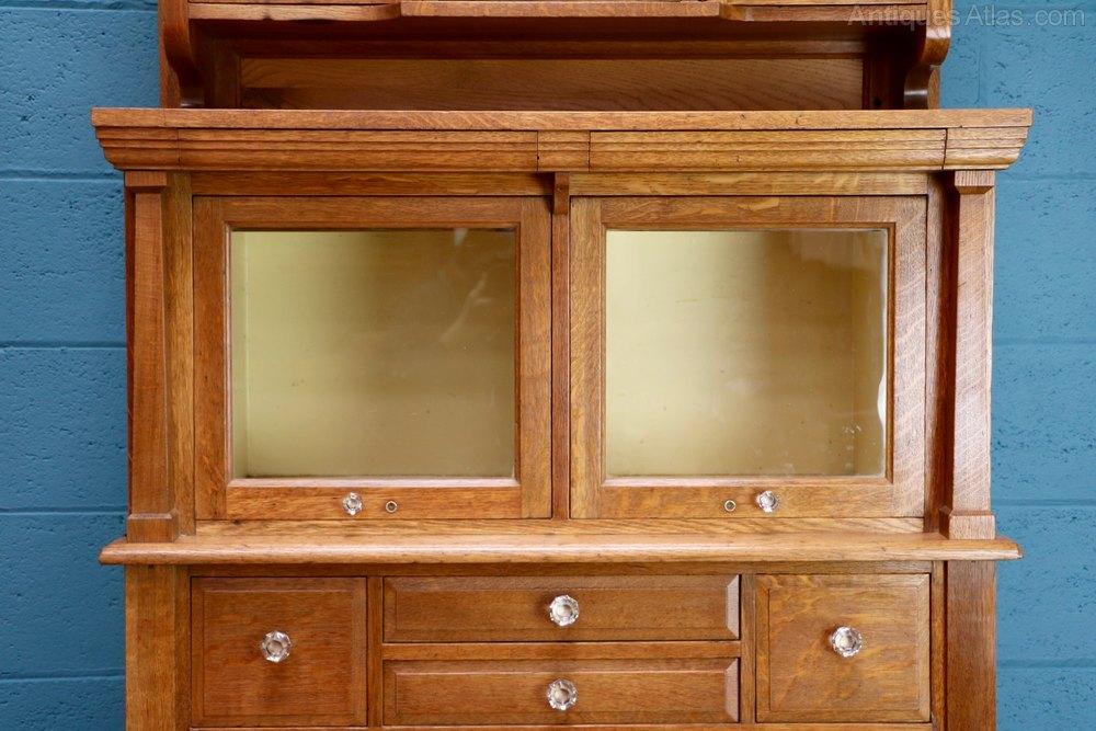 Antique Oak Dentist S Cabinet Antiques Atlas