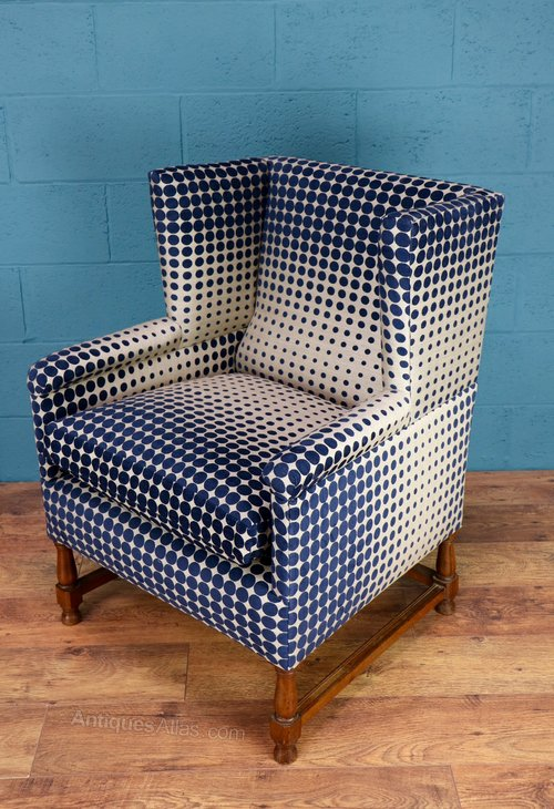 Arts And Crafts Wing Back Armchair - Antiques Atlas