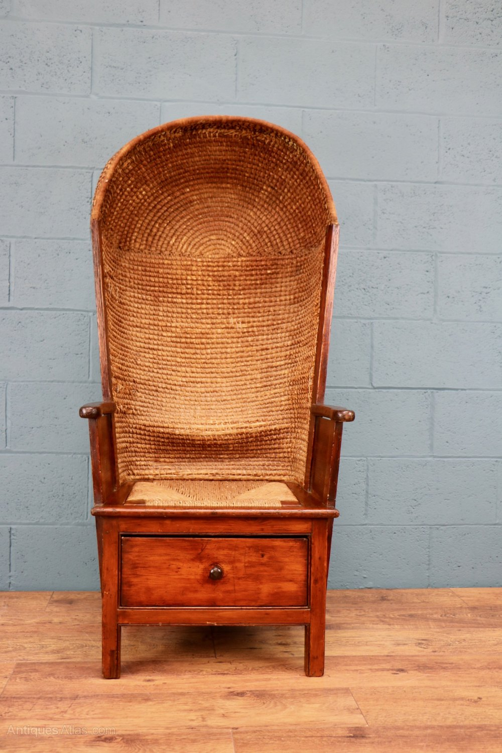 Gentlemans Orkney Chair Antique Orkney Chairs ... - Gentleman's Orkney Chair - Antiques Atlas