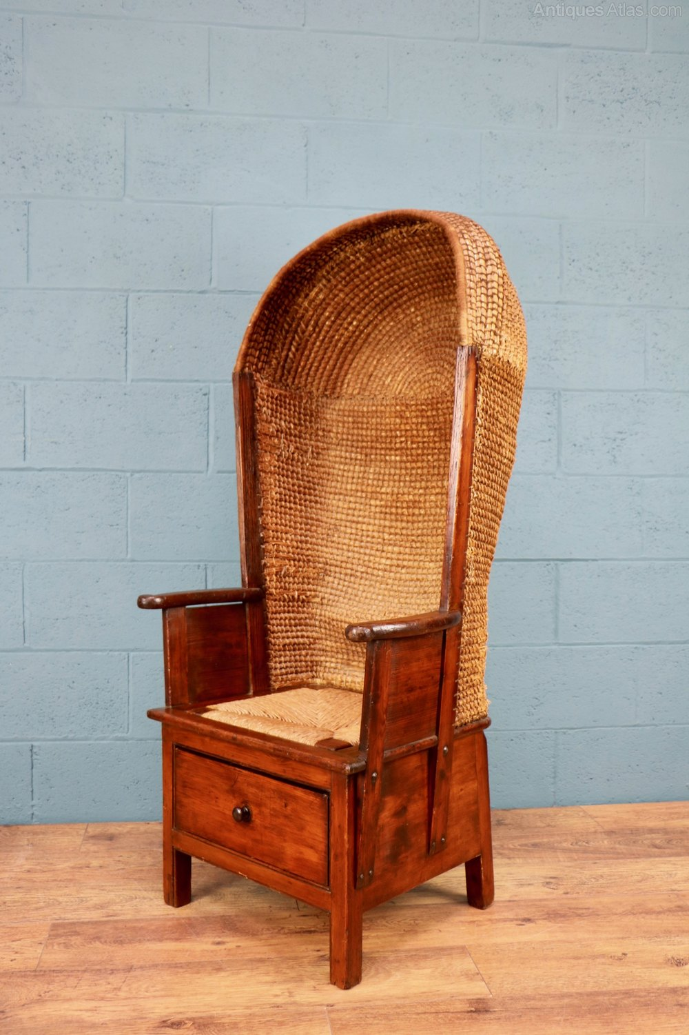 Gentlemans Orkney Chair Antique ... - Gentleman's Orkney Chair - Antiques Atlas
