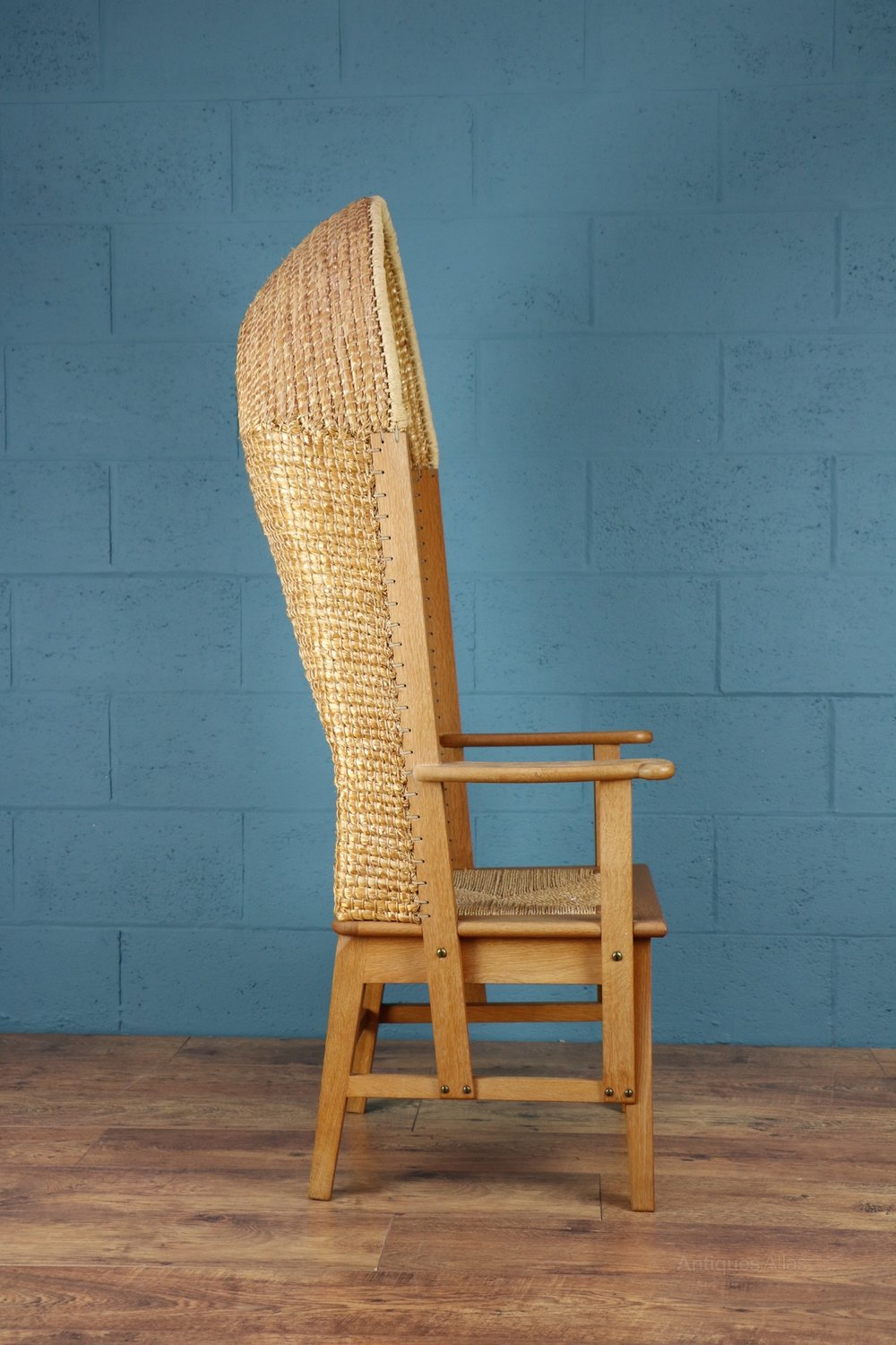 Antiques Atlas Gentleman S Hooded Orkney Chair