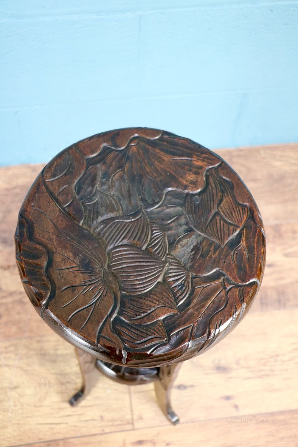 Liberty co carved table antiques atlas