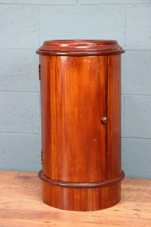Victorian Circular Cabinet Pot Cupboard Antiques Atlas