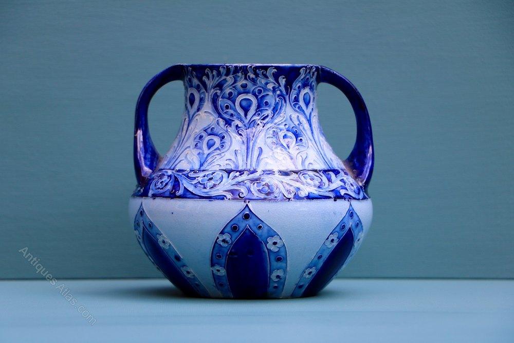 Antiques Atlas William Moorcroft Florian Ware Vase