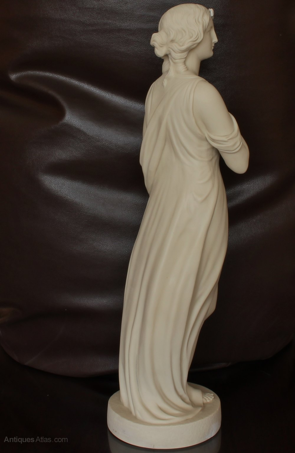 Antiques Atlas Copeland Parian Figurine Of Beatrice By