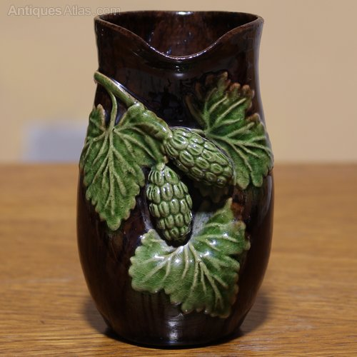 Antiques Atlas Early Rye Pottery Hop Ware Ceramic Vase 375