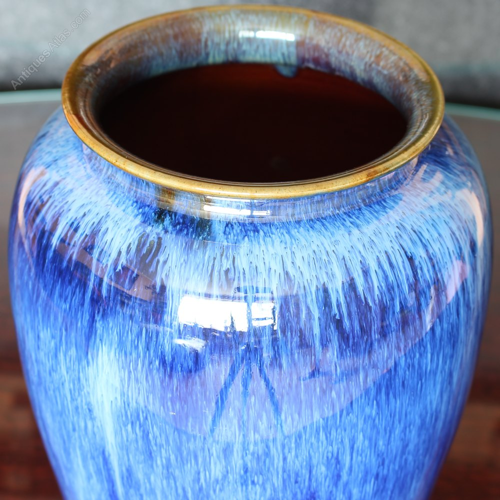 Antiques atlas electric blue bourne denby danesby ware vase electric blue bourne denby danesby ware vase other makers denby danesby blue reviewsmspy