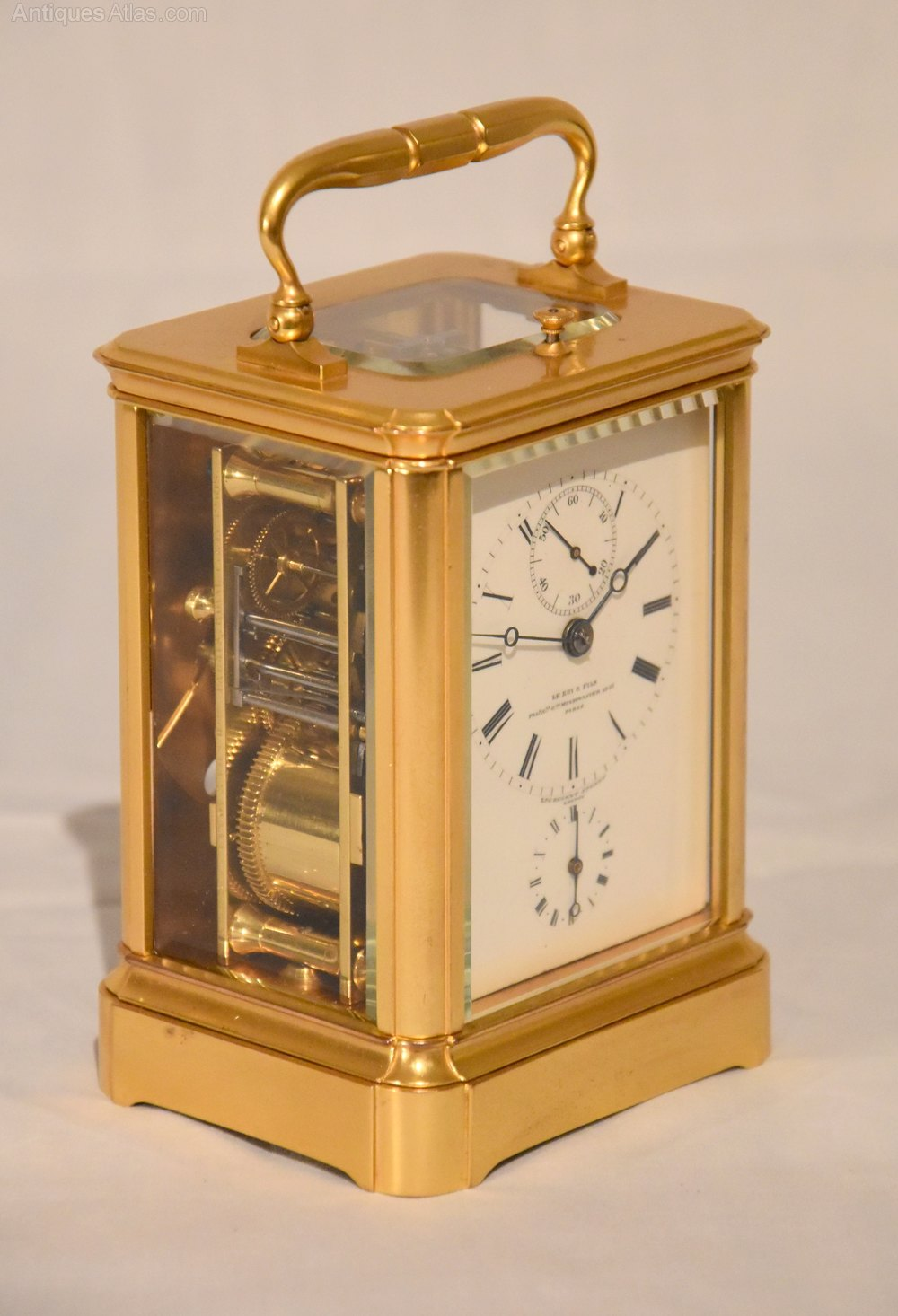Antiques Atlas A Petite Sonnerie Carriage Clock With