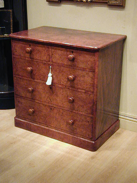 Walnut Chest Of Drawers By Heals Of London