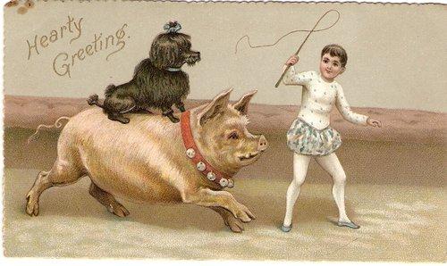 Antiques atlas victorian christmas card circa 1880s m4hsunfo