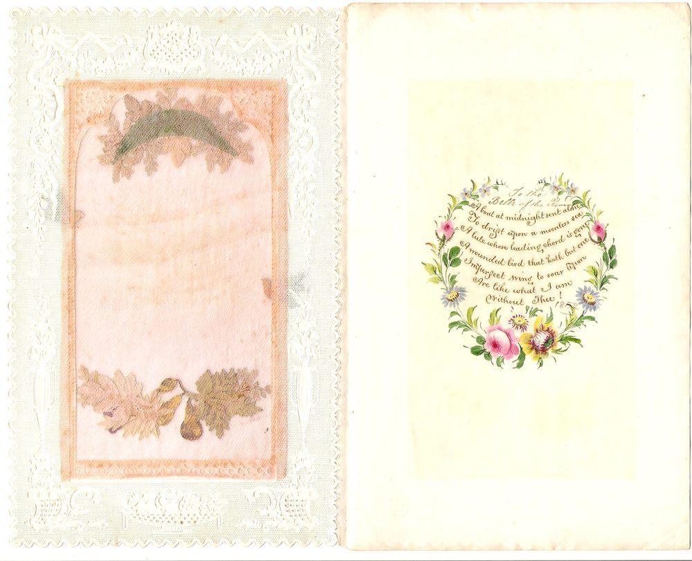 Antiques Atlas Victorian Paper Lace Valentine 1852