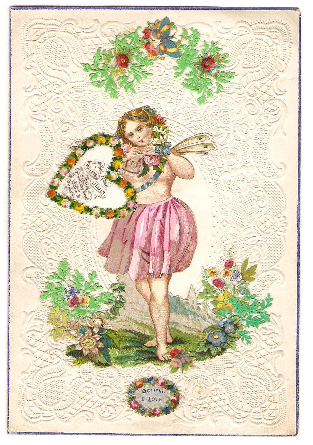 Antiques Atlas Victorian Valentine Card Circa 1845 – Victorian Valentines Cards