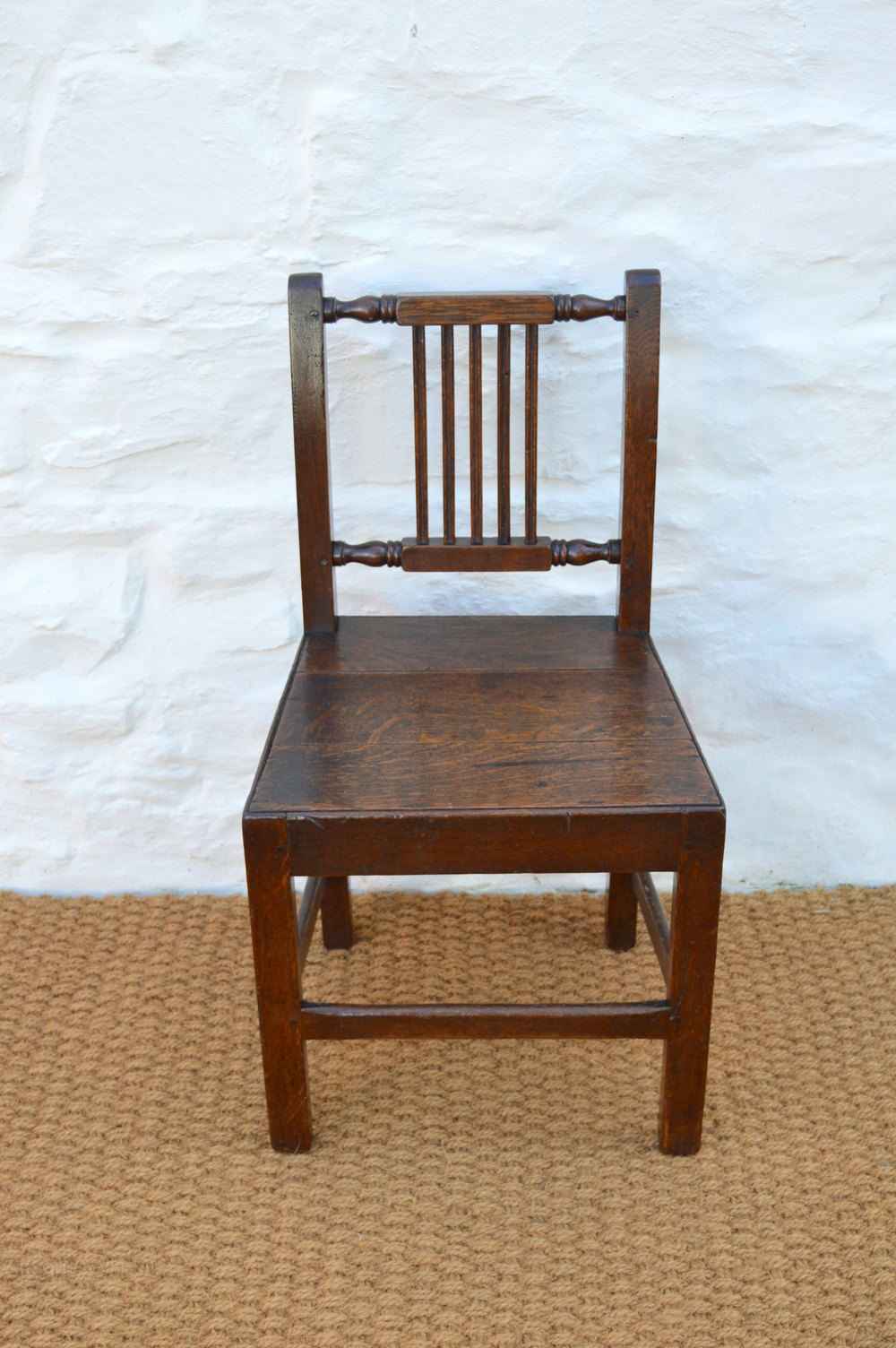 Set Of 18thC Welsh Oak Farmhouse Dining Chairs - Antiques ...