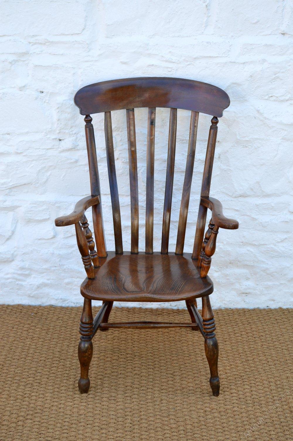 Victorian Welsh Farmhouse Armchair Antique Farmhouse Chairs ... - Victorian Welsh Farmhouse Armchair - Antiques Atlas