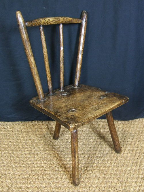 Welsh Sycamore Comb Back Stick Chair Antique ... - Welsh Sycamore Comb Back Stick Chair - Antiques Atlas