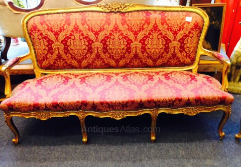 Antiques Atlas - Louis XV Salon Set