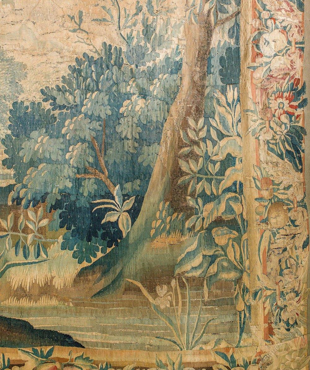 Antiques Atlas A Large 18th Century Verdure Aubusson