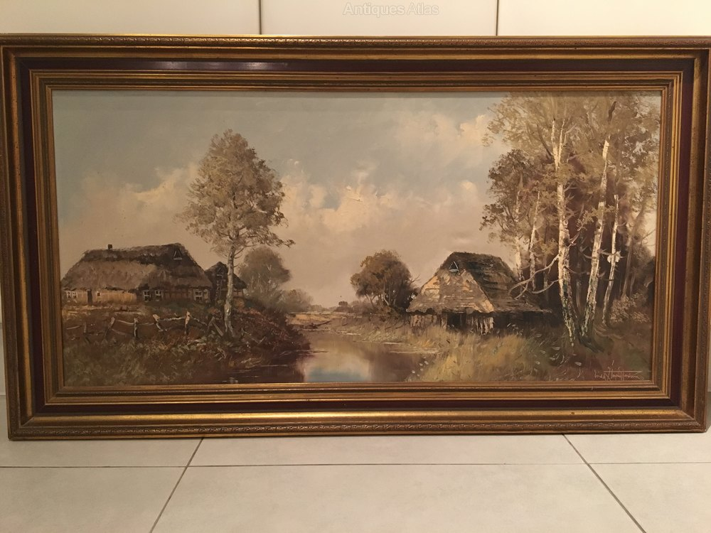 Oil Painting In  Peice