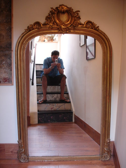 fc706e2dbbd76 Antiques Atlas - Large Antique French Gilt Wood   Gesso Mirror