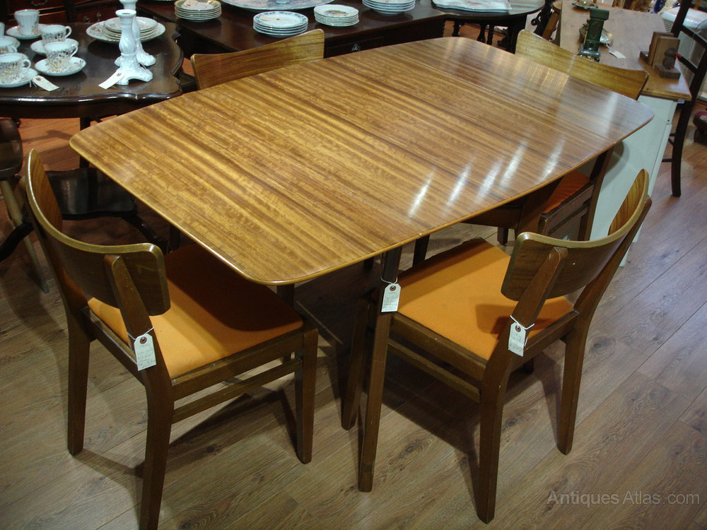 Antiques Atlas Retro 1960s 1970s Solid Teak Dining Table Chairs