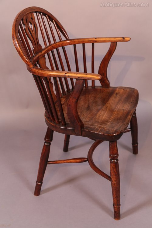 Antique Yew Wood Windsor Chair William Wheatland Antiques Atlas