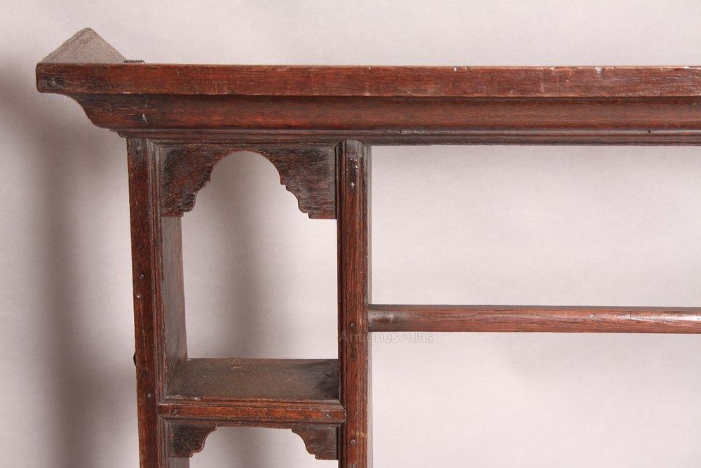 Georgian Oak Plate Rack Antique Plate Racks ... & Georgian Oak Plate Rack - Antiques Atlas