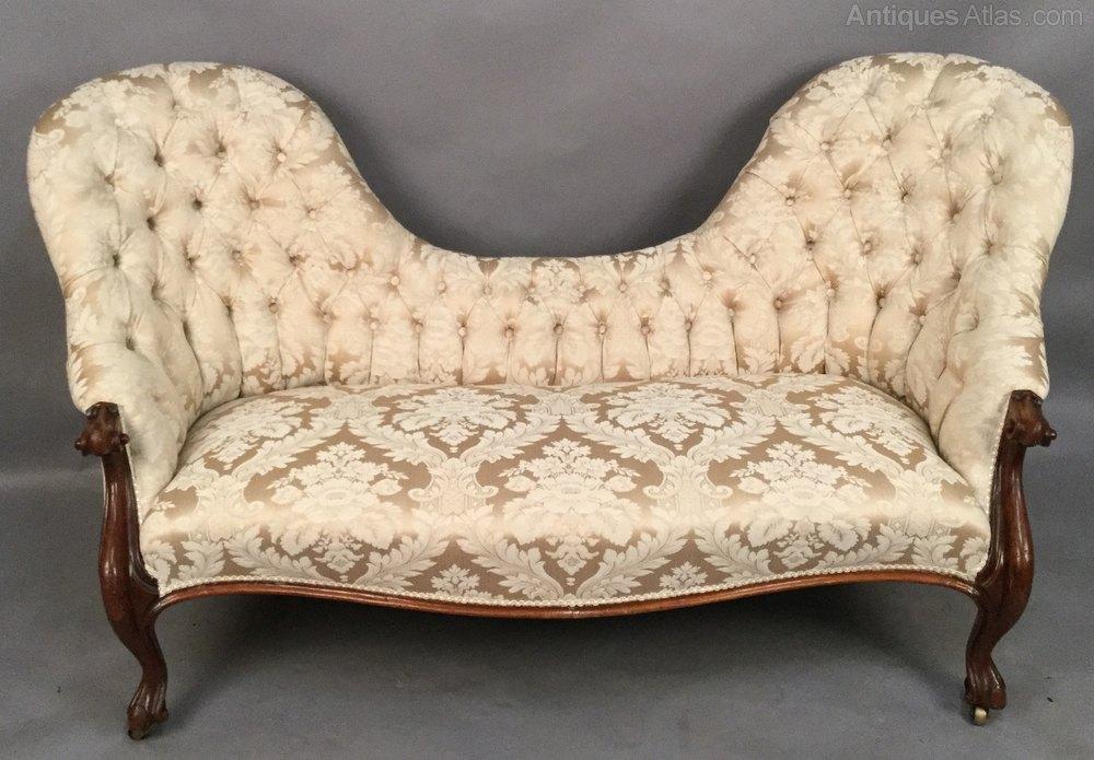 Victorian Double End Chaise Lounge Antiques Atlas