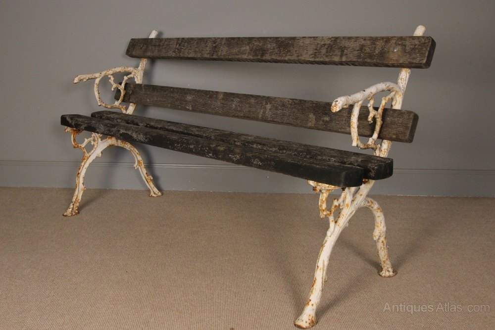 ... Antique Garden Benches ...