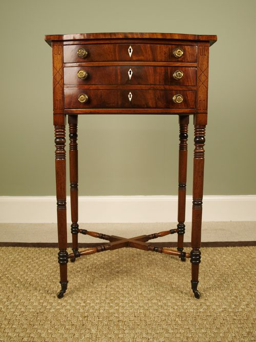 a small regency mahogany side table antiques atlas - Antique Side Tables