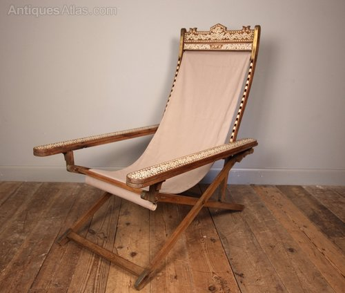 Moorish Anglo Indian Plantation Chair ... & Moorish Anglo Indian Plantation Chair - Antiques Atlas