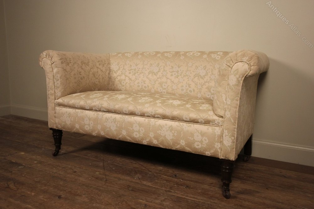 Small 19th C Chesterfield Sofa Antiques Atlas